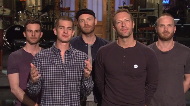 Garfield Coldplay