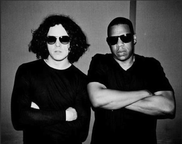 Jack White and Jay-Z