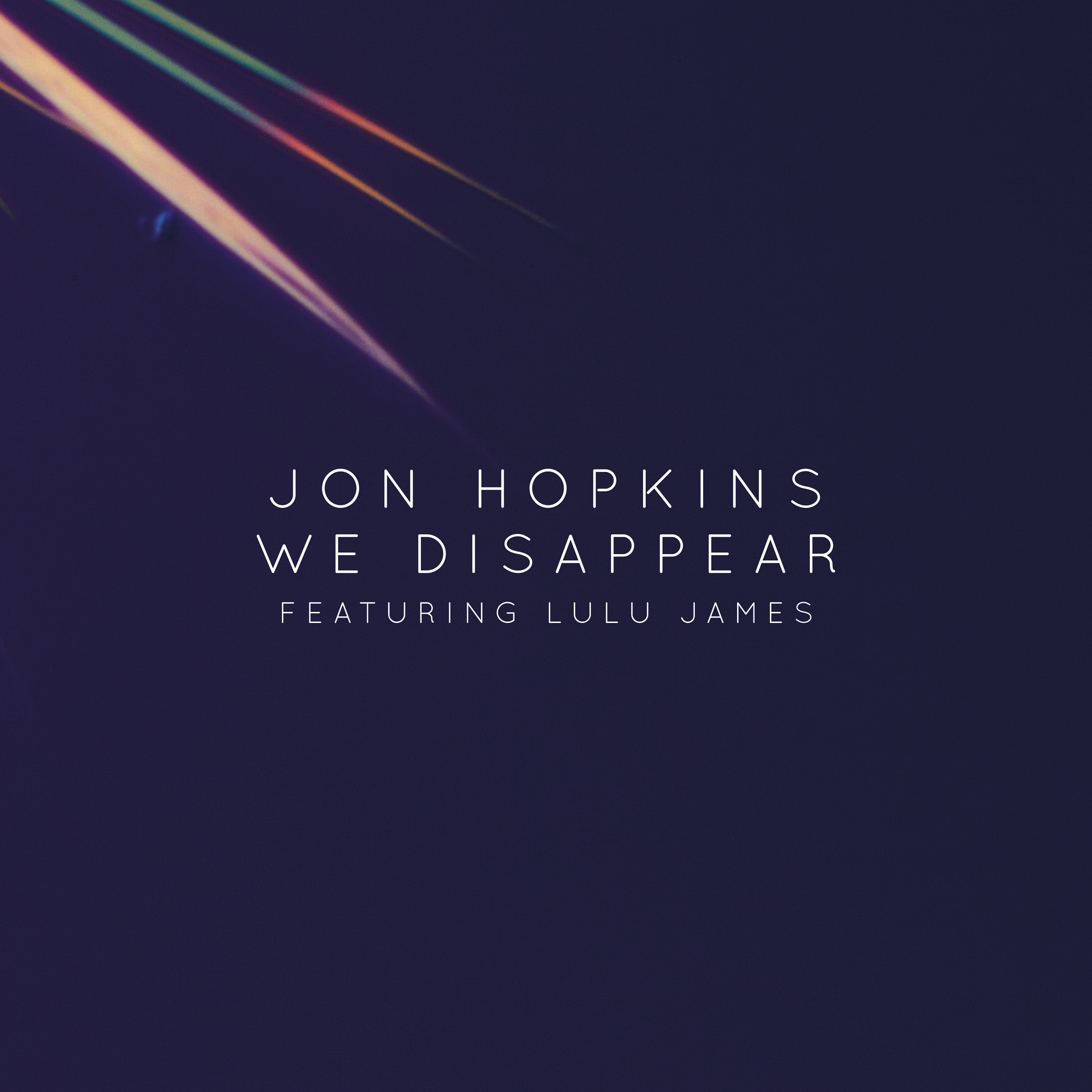 "Jon Hopkins – ""We Disappear"" (New Version Feat. Lulu James)"
