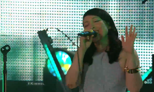 Watch Little Dragon Play <em>Kimmel</em>