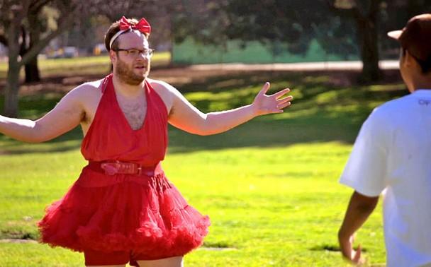 Watch Seth Rogen Play A Little Girl On Odd Future S Loiter