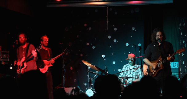Watch Justin Vernon Perform With Megafaun In Durham