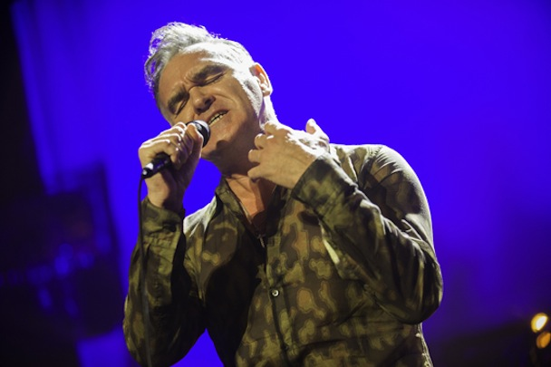 Morrissey Tried To Shut Down Last Night's We Are Scientists/PAWS Show