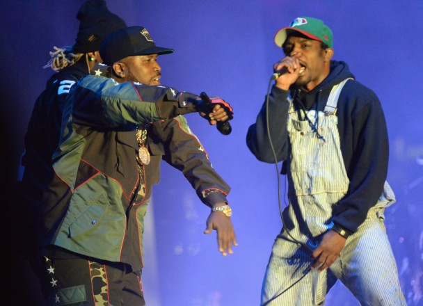 OutKast Played A Tense, Private Show For Adult Swim Last Night