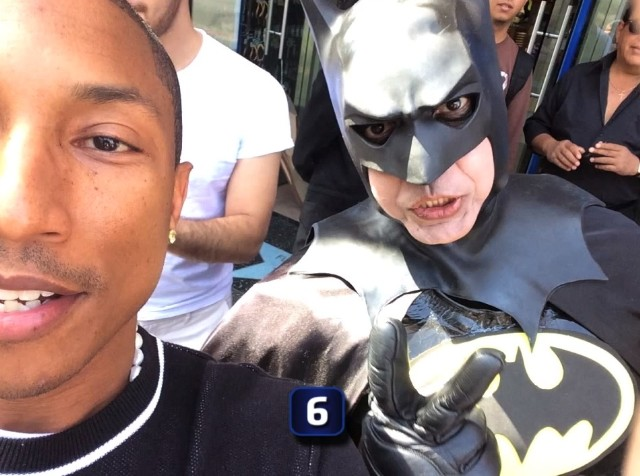 Pharrell and Batman