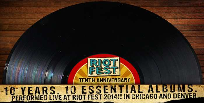 10 Bands (Including Weezer, Slayer, Get Up Kids) To Play Their Essential Albums At 10th Riot Fest