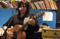 "Watch Kim & Kelley Deal Play ""Cannonball"" & ""Gigantic"" At Reckless Records"