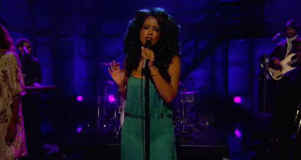 Watch Kelis Play <em>Conan</em>