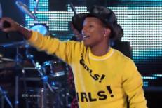 Watch Pharrell Perform