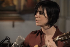 Watch Sharon Van Etten Perform <em>Are We There</em> Songs In A London Church For Amazon