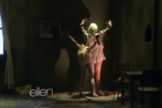 Watch Sia &#038; Maddie Ziegler Recreate The &#8220;Chandelier&#8221; Video On <em>Ellen</em>