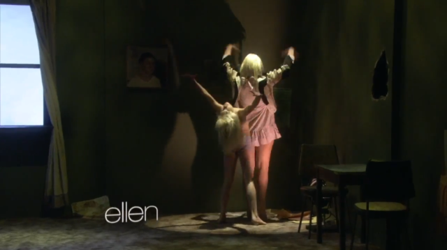 Watch sia maddie ziegler recreate the chandelier video on when sias chandelier hit the internet back in march i called it a candidate for chorus of the year staggeringly triumphant ascendance to the heavens aloadofball Gallery