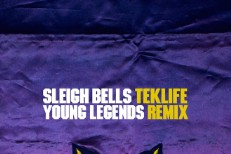 "Sleigh Bells - ""Young Legends (Teklife Remix)"""