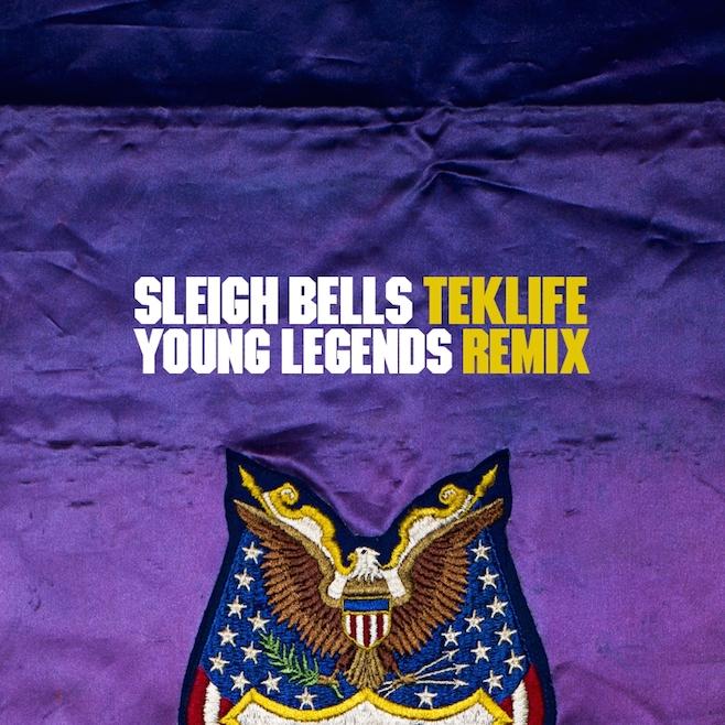 """Sleigh Bells – """"Young Legends (Teklife Remix)"""""""