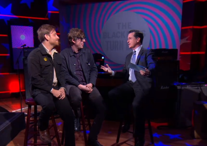 Black Keys Take <em>Turn Blue</em> To <em>Colbert</em>, Patrick Carney Says Michael Jackson&#8217;s <em>Xscape</em> Is Fucking Bullshit