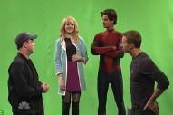 <em>SNL</em> With Andrew Garfield Music Recap: Coldplay, &#8220;The Beygency,&#8221; Drake Vs. Skrillex In <em>Family Feud</em>, And Chris Martin Kisses Spider-Man