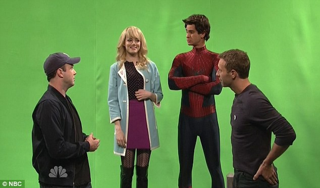 Chris Martin & Spider-Man On SNL