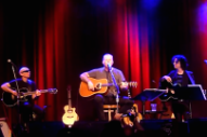 Watch James Hetfield, Billie Joe Armstrong, & Joe Satriani Mash Up Bob Seger & Green Day At Acoustic-4-A-Cure