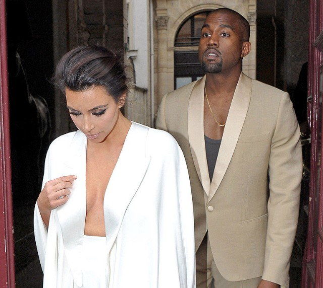 Kanye West & Kim Kardashian Wedding Weekend In Versailles
