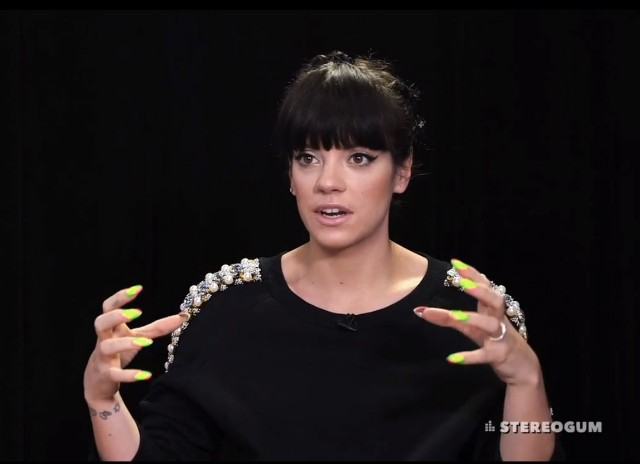 Lily Allen Stereogum Interview