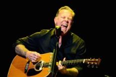 Metallica's James Hetfield @ MusiCares MAP Fund Benefit Concert, Club Nokia 5/12/2014 In Los Angeles.