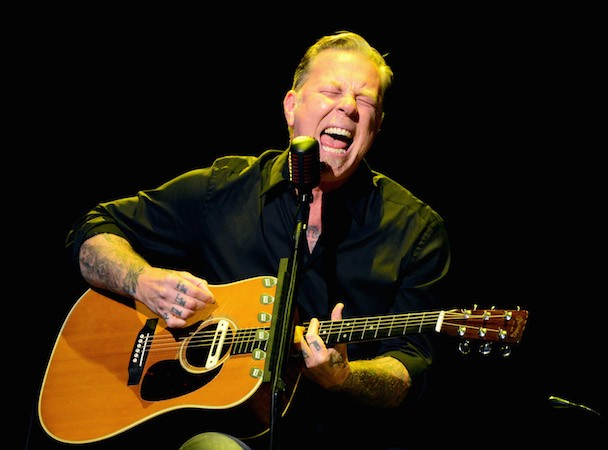 Metallica's James Hetfield @ MusiCares MAP Fund Benefit Concert, Club Nokia 5/12/2014 In Los Angeles.