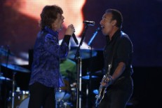 The Rolling Stones And Bruce Springsteen