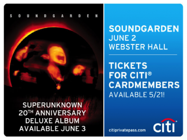 Soundgarden Announce NYC <em>Superunknown</em> Show With $19.94 Tickets