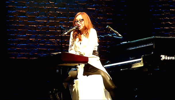 "Watch Tori Amos Cover Madonna's ""Frozen"" In Amsterdam"