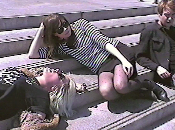 "White Lung - ""Face Down"" Video"