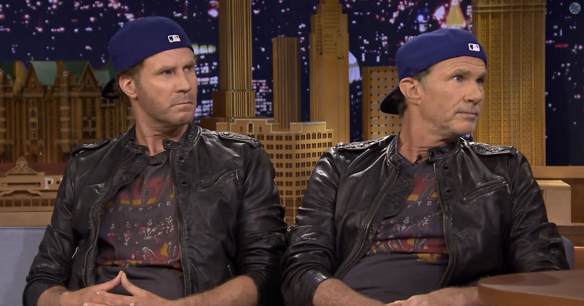 Watch Chad Smith &#038; Will Ferrell&#8217;s Drum-Off, Red Hot Chili Peppers Play With The Roots On <em>Fallon</em>