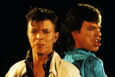 """David Bowie & Mick Jagger's """"Dancing In The Street"""" Video Without The Music Is Pretty Great"""