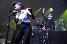 Watch Video Of Bonnaroo's Skrillex Superjam Feat. Lauryn Hill, Warpaint, Zedd, Robbie Krieger, A$AP Ferg, Janelle Monáe, & Others