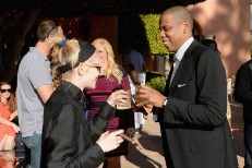 Grimes & Jay-Z At Roc Nation Pre-GRAMMY Brunch Presented By MAC