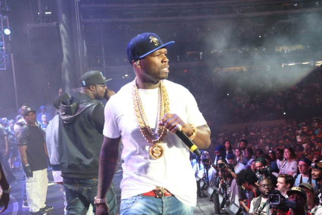 50 Cent @ Hot 97 Summer Jam 2014