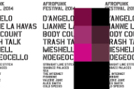 Afropunk 2014 Lineup