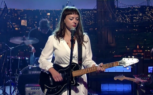 Angel Olsen on Letterman