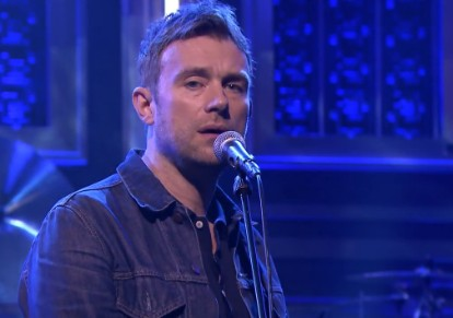 Damon Albarn on The Tonight Show