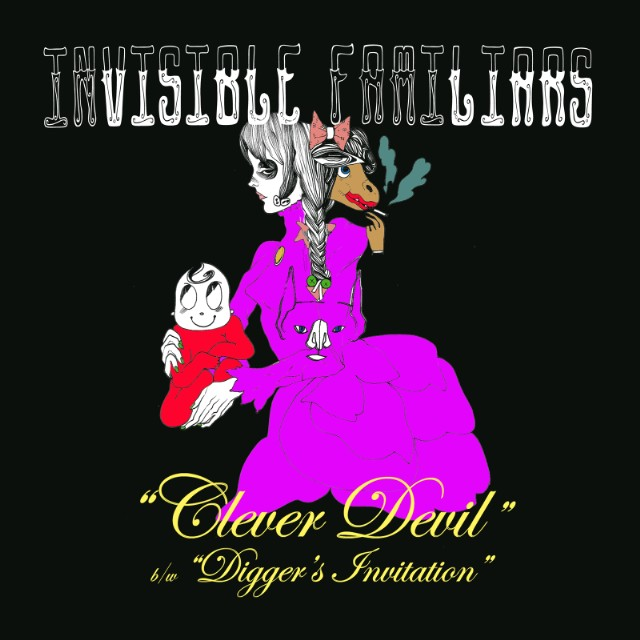 Invisible Familiars _Clever Devil_ art
