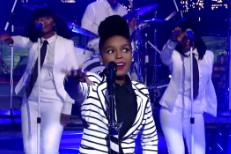 Janelle Monáe on Letterman
