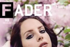 Lana Del Rey Fader cover