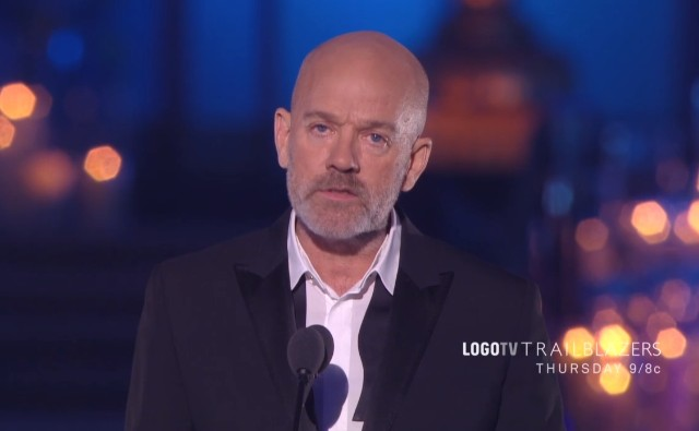 Michael Stipe At Trailblazers
