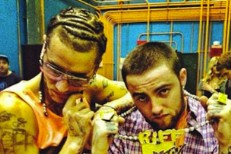Riff Raff and Mac Miller