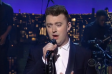 Sam Smith David Letterman