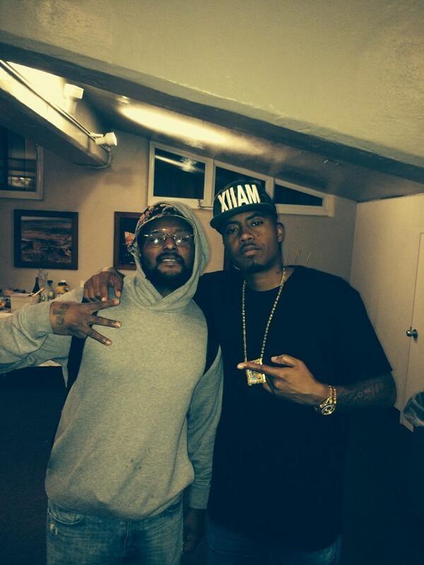 Schoolboy Q and Nas