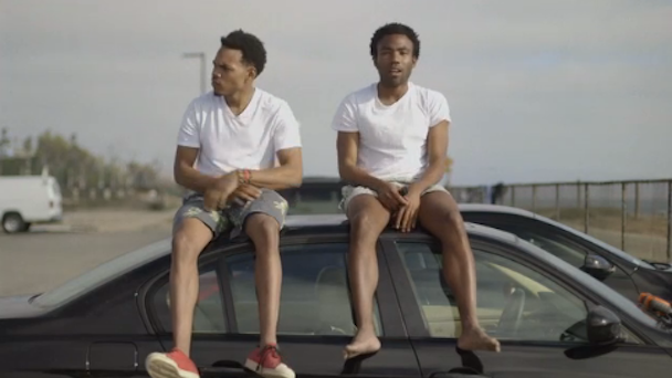 Chance The Rapper and Childish Gambino
