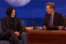 Watch Jack White Talk &#8220;Seven Nation Army&#8221; And Cell Phones, Perform <em>Lazaretto</em> Songs On <em>Conan</em>