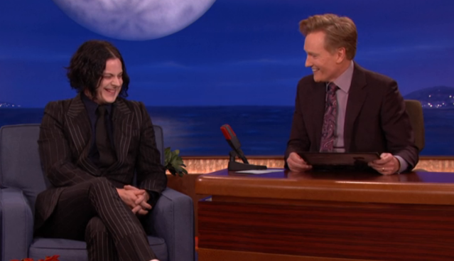 Jack White on Conan