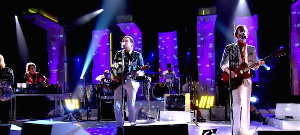 "Watch Arcade Fire Perform ""We Exist"" On Jools Holland"