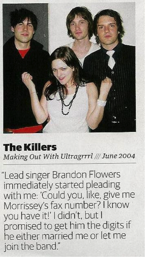The Killers: Making Out With Ultragrrrl